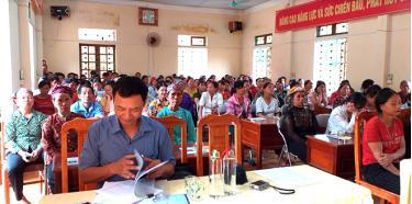 Sở Tư pháp tuyên truyền pháp luật cho nhân dân huyện Văn Yên.