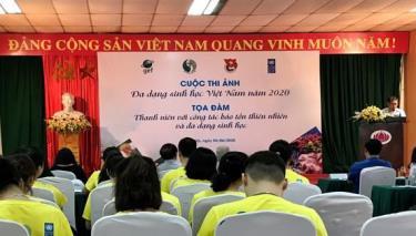 Lễ phát động Cuộc thi ảnh về Đa dạng sinh học Việt Nam năm 2020.