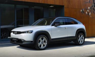 Mẫu MX-30 được sử dụng làm nền tảng chung. Ảnh: Mazda
