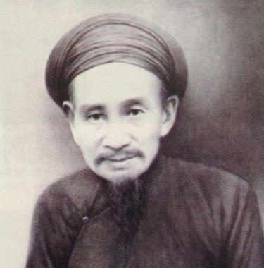 Chân dung tiến sĩ Vũ Tông Phan do họa sĩ Bảo Nguyên phục dựng năm 2001.
