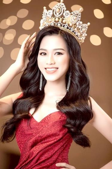 Miss Vietnam 2020 Do Thi Ha, a student at the Hanoi-based National Economics University, is working to prepare for her appearance at the Miss World 2021 in Puerto Rico in December.