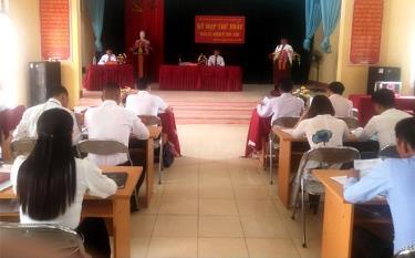 HĐND xã Nghĩa Lợi khóa XXI đã tổ chức thành công Kỳ họp thứ Nhất, nhiệm kỳ 2021 - 2026.