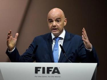 Chủ tịch FIFA Gianni Infantino.