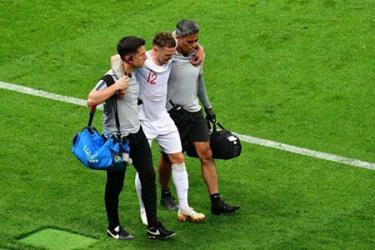 Có tới 3 cầu thủ của ĐT Anh gặp chấn thương sau trận thua 1-2 trước Croatia.