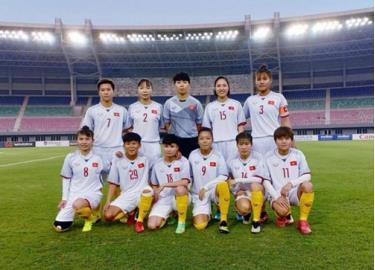Đội tuyển bóng đá nữ Việt Nam.