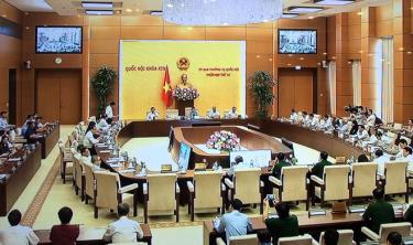 Ủy ban Thường vụ Quốc hội khai mạc Phiên họp thứ 35.