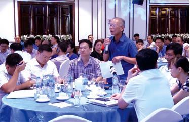 Đại diện doanh nghiệp tham gia Chương trình