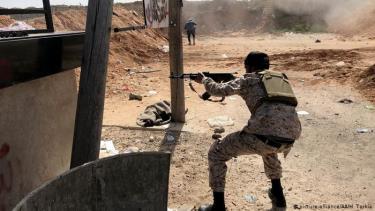 Chiến trường Libya.
