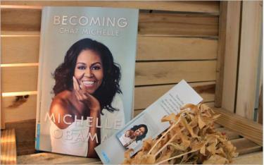 Bìa cuốn hồi ký Chất Michelle.