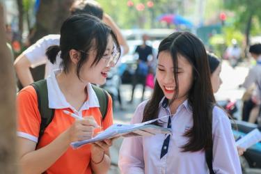 Thí sinh thi Trung học phổ thông Quốc gia.