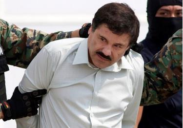 Trùm ma túy Mexico Joaquin ''El Chapo'' Guzman.