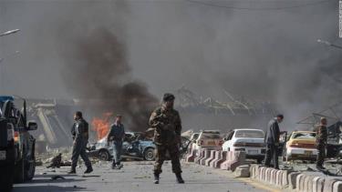 Một vụ đánh bom xe đã xảy ra ở cổng trụ sở cảnh sát tại thành phố Kandahar, miền Nam Afghanistan.