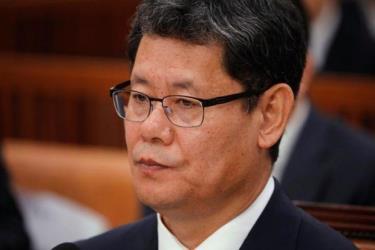 Bộ trưởng Thống nhất Kim Yeon-chul.