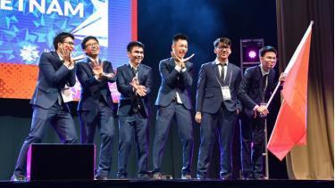 Cả 6 học sinh Việt Nam tham dự Olympic Toán quốc tế đều đoạt giải.