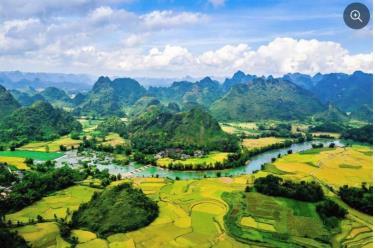 Vẻ đẹp của Công viên địa chất Non nước Cao Bằng