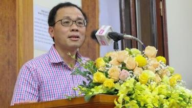 GS, TS Tạ Thành Văn, Hiệu trưởng trường Đại học Y Hà Nội.