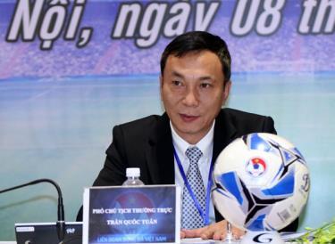 Phó Chủ tịch thường trực LĐBĐVN Trần Quốc Tuấn mong muốn ĐT Việt Nam sẽ có mặt tại vòng loại thứ 3 World Cup 2022 của khu vực châu Á