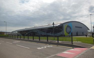 Một sân bay ở London