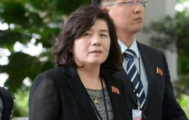 Thứ trưởng Ngoại giao Triều Tiên Choe Son Hui.