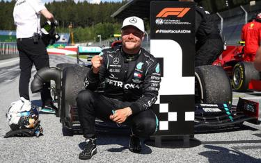 Valtteri Bottas giành chiến thắng đầu tiên của mùa giải công thức 1  2020