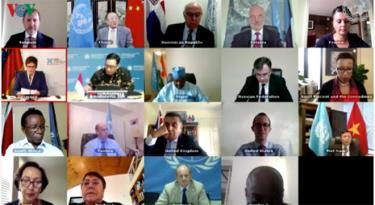 Hội đồng Bảo an thảo luận mở về Hoạt động hoà bình và quyền con người.