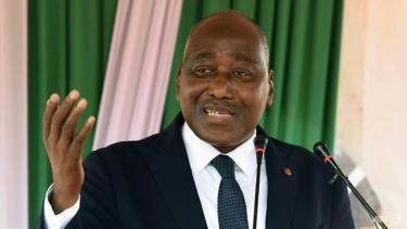 Cố Thủ tướng Bờ Biển Ngà Amadou Gon Coulibaly.