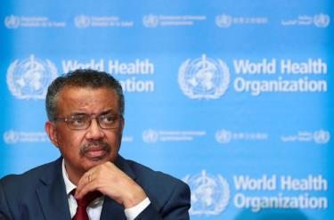 Tổng giám đốc WHO Tedros Adhanom Ghebreyesus