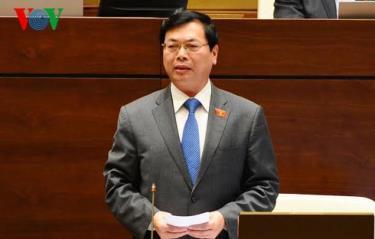 Cựu Bộ trưởng Bộ Công thương - Vũ Huy Hoàng. (Ảnh VOV)