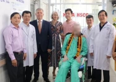 Bệnh nhân 91 xuất viện.