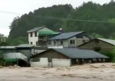 Lũ lụt gây thiệt hại nghiêm trọng về người và tài sản tại Trung Quốc.