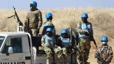 Lực lượng gìn giữ hòa bình của Liên Hợp Quốc ở Sudan.