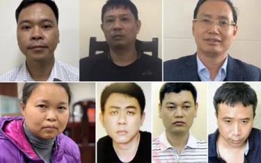 Trong các bị can bị bắt, khởi tố, có cả cán bộ của UBND Hà Nội, nguyên GĐ Sở Kế hoạch và Đầu tư TP Hà Nội.