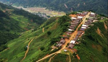Bản định cư Cu Vai, xã Xà Hồ, huyện Trạm Tấu