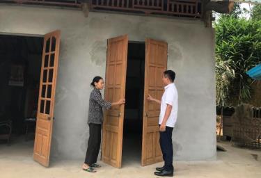 Ngôi nhà của cựu chiến binh Lương Minh Quyết ở thôn Hương Lý, xã Đại Đồng (huyện Yên Bình) được sửa chữa khang trang.