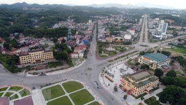 Quang cảnh thành phố Yên Bái