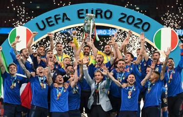 Italy đăng quang EURO 2020. (Ảnh nguồn: EPA)