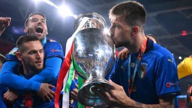 Italy thắng cả bảy trận tại Euro 2021. Ảnh: Reuters.