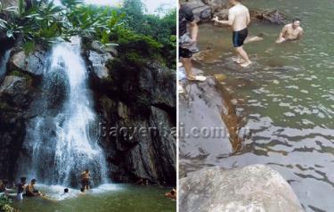 Hiện trường vụ đuối nước do đi tắm thác