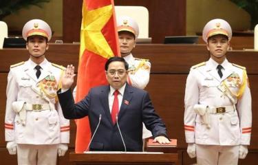 Prime Minister Pham Minh Chinh.
