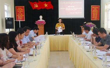 Hội nghị tổng kết công tác cải cách hành chính của Sở VHTT&DL.