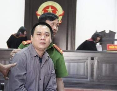 Bị can Lê Ngọc Hoàng.