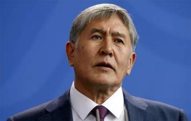 Cựu Tổng thống Kyrgyzstan Almazbek Atambayev.