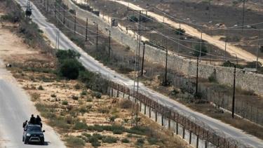 Khu vực biên giới Dải Gaza