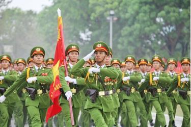 Lực lượng CAND ngày càng lớn mạnh, trưởng thành, hoàn thành tốt nhiệm vụ bảo vệ an ninh quốc gia, giữ gìn trật tự, an toàn xã hội.