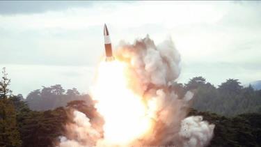 Vụ thử vũ khí mới được Triều Tiên thực hiện tại một địa điểm bí mật ngày 16-8-2019.
