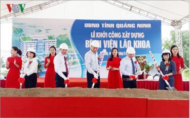 Lãnh đạo tỉnh Quảng Ninh khởi công Dự án bệnh viện Lão khoa đầu tiên trong cả nước.