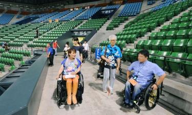 Khán giả khuyết tật được ưu tiên khi tới dự Paralympics 2020.