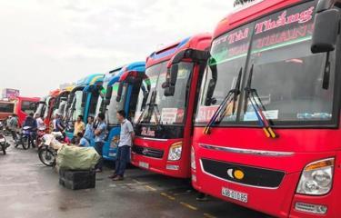 Các đơn vị vận tải đã lên kế hoạch và sẵn sàng đảm bảo chở khách trong kỳ nghỉ lễ Quốc khánh 2/9.