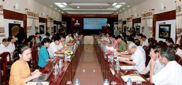 Hội thảo chủ đề báo chí văn nghệ với sự phát triển kinh tế - xã hội của địa phương.