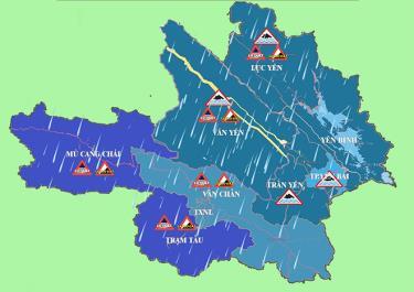 Đài Khí tượng thủy văn tỉnh Yên Bái dự báo, do ảnh hưởng của dải hội tụ nhiệt đới nên từ nay đến ngày 5/8, các khu vực trong tỉnh tiếp tục có mưa, mưa vừa, có nơi mưa to đến rất to và dông. Lượng mưa cả đợt phổ biến 80 - 120mm.
